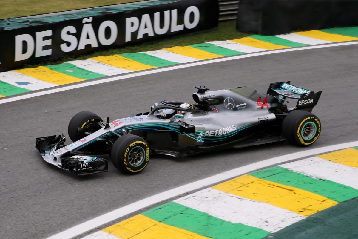 Хэмилтон выиграл квалификацию Гран-при Бразилии / Reuters