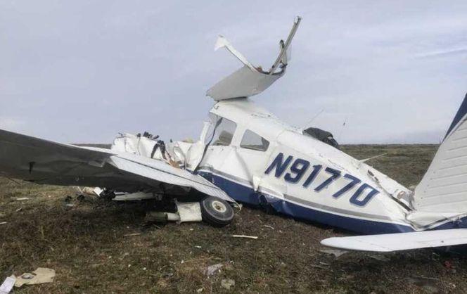 Причиной аварии мог стать сердечный приступ у пилота / фото: WHO-Ch HD. 13 News via Twitter