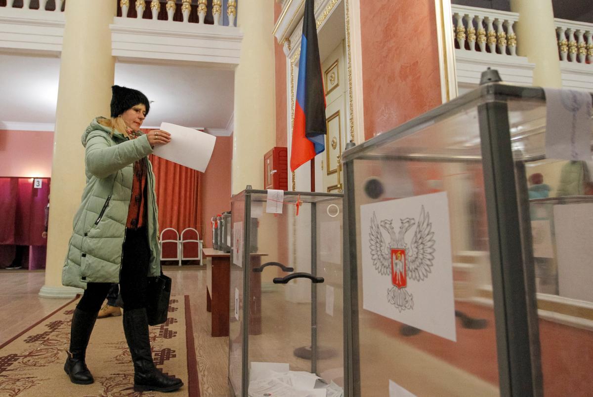 Летом 2021 года на оккупированном Донбассе могут начать агитацию российских партий/ фото REUTERS