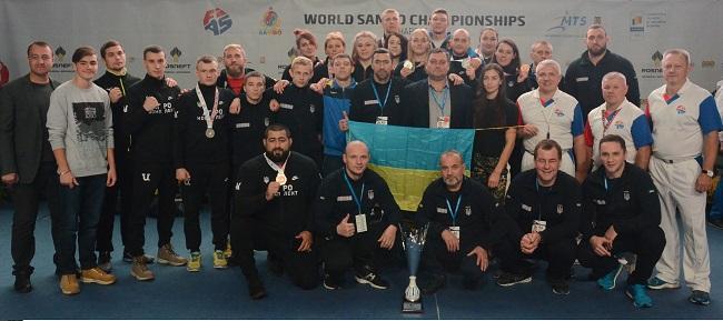 Українські спортсмени завоювали 11 медалей на чемпіонаті світу з самбо / sambo.net.ua
