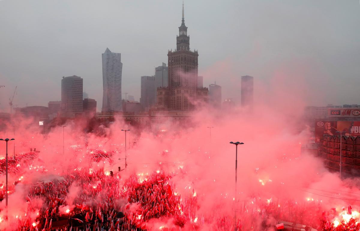 Польша празднует 100-летие независимости / REUTERS