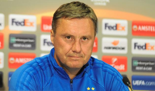 Хацкевич признан лучшим тренером тура УПЛ / uafc.org.ua