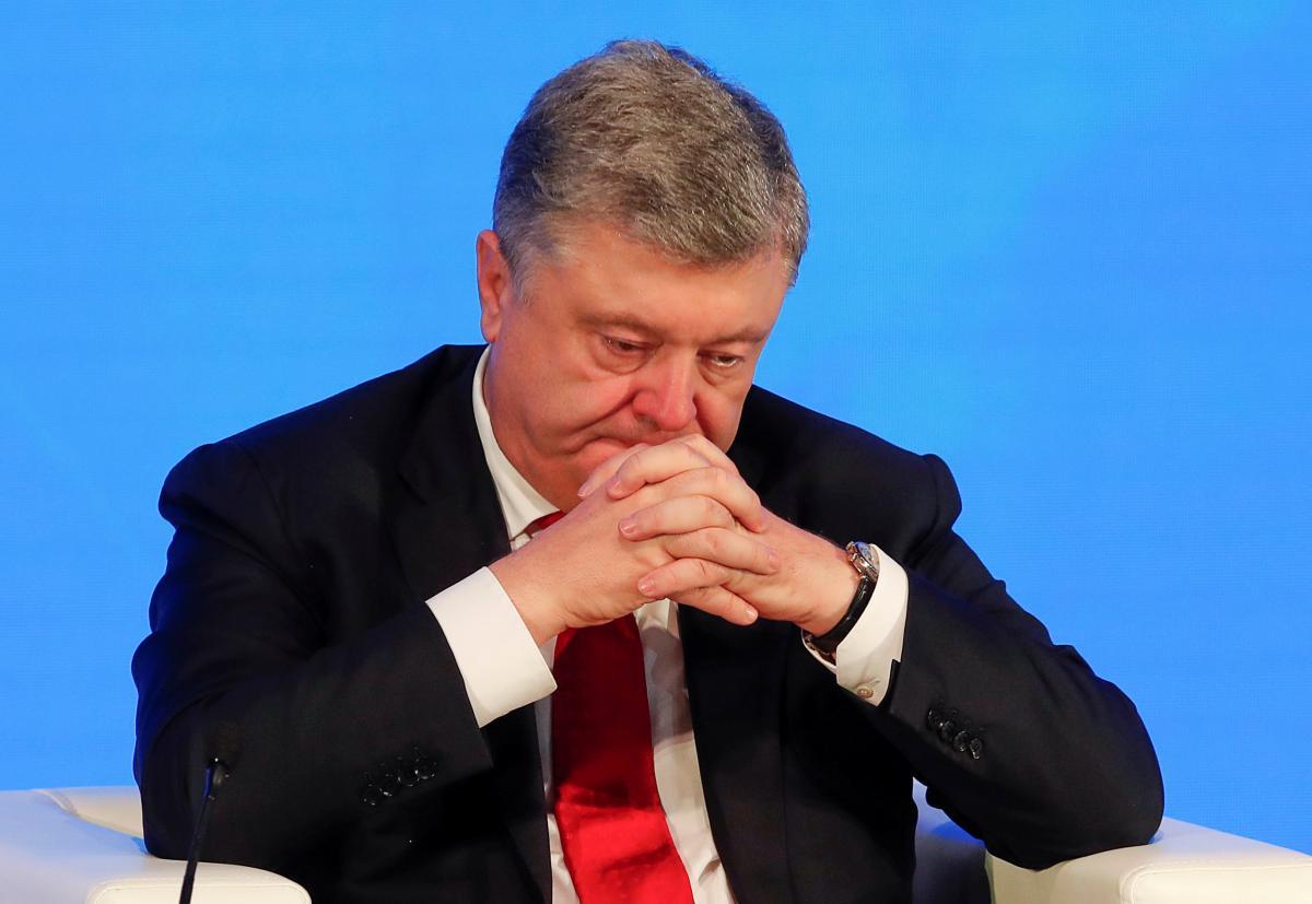 Экс-президент Петр Порошенко / REUTERS