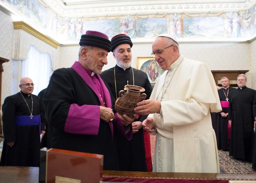 Папа встретился с Патриархом Ассирийской Церкви Востока / L Osservatore Romano
