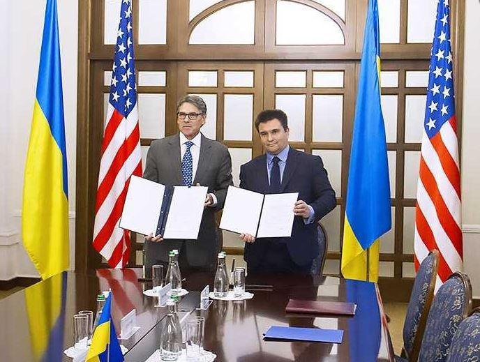 Павел Климкин и Рик Перри подписали декларацию о сотрудничестве в сфере атомной безопасности / mfa.gov.ua