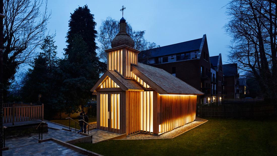 Єдина дерев'яна каплиця у Лондоні вже отримала визнання архітектурного співтовариства / realt.onliner.by