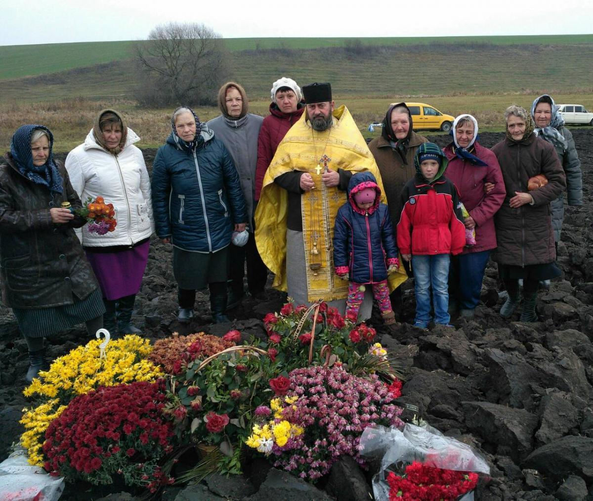 В Винницкой области состоялась панихида по погибшим в авиакатастрофе летчикам