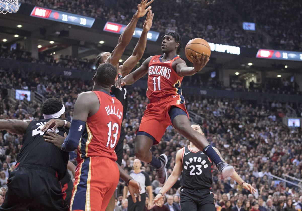 Нью-Орлеан обіграли Торонто в черговому матчі регулярного чемпіонату / Reuters
