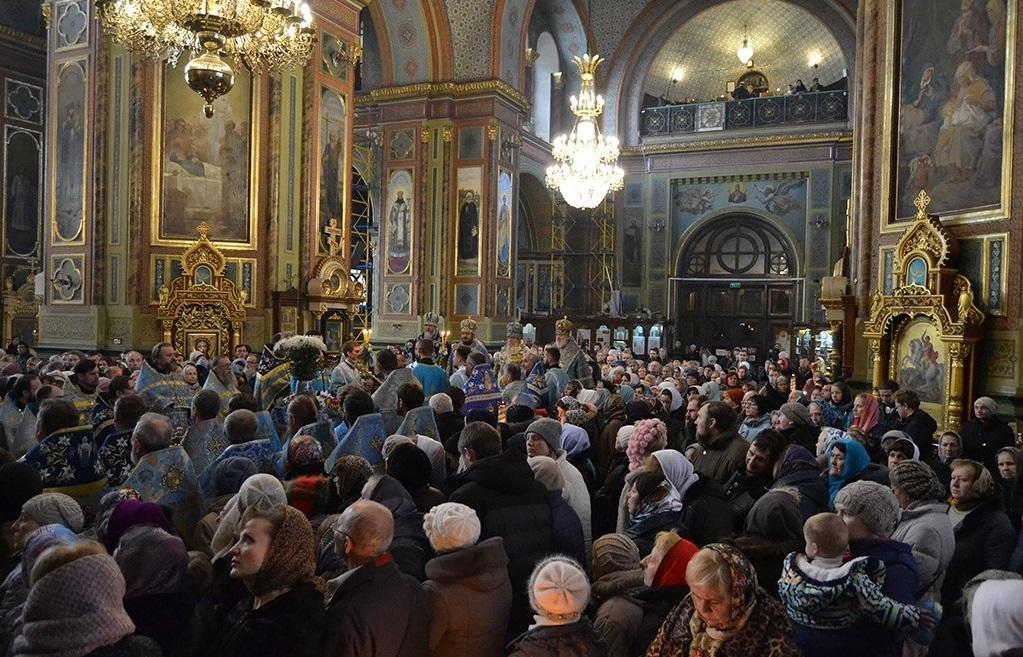 Богослужение в Харькове / eparchia.kharkov.ua