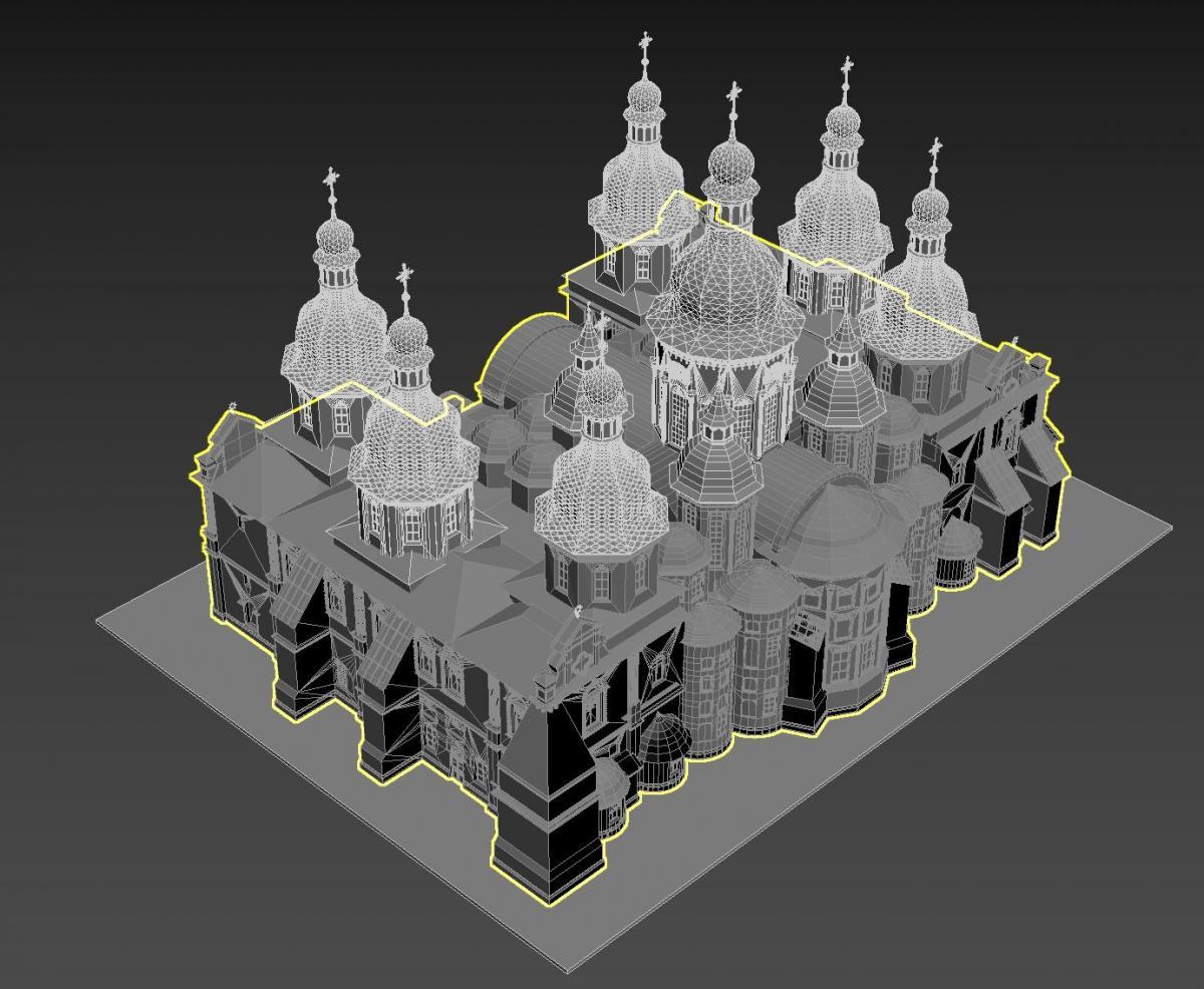 У Києві встановлять 3D-моделі відомих церков та соборів / kyivcity.gov.ua