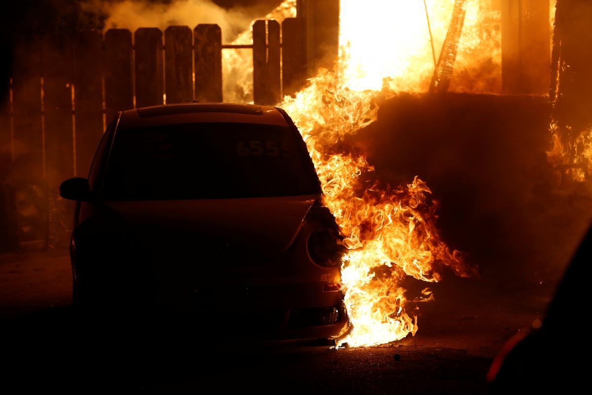 По предварительным данным, причина возгорания - поджог / Иллюстрация
