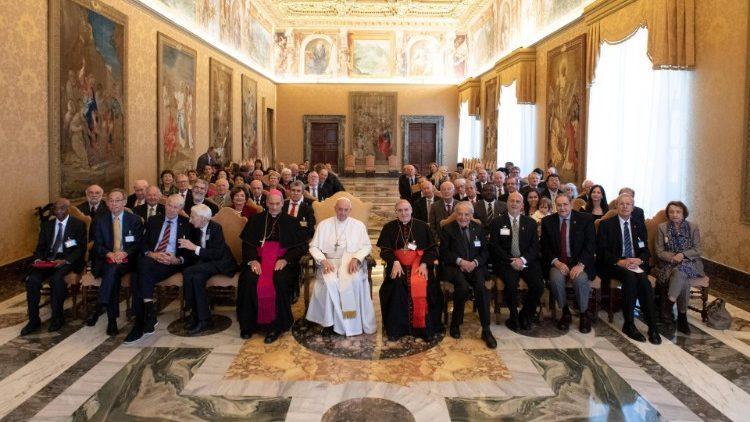 Аудиенция с членами Папской академии наук / vaticannews.va