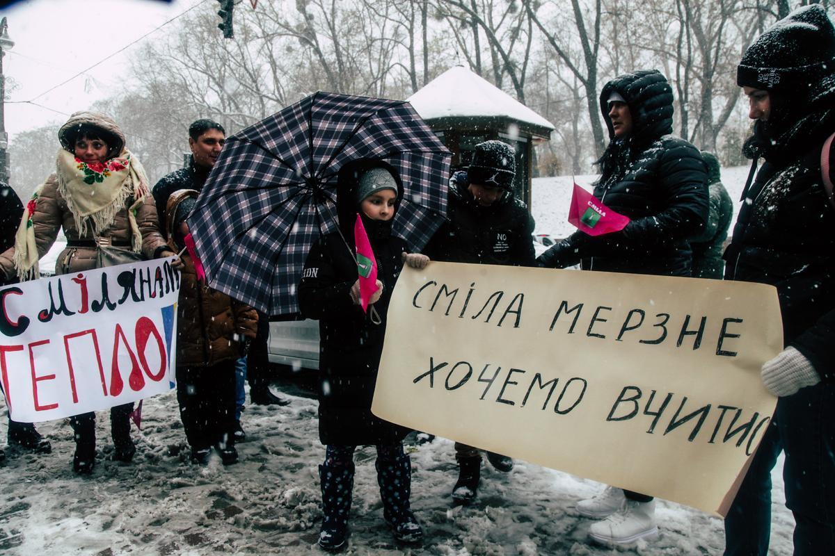 За словами смілян, місто залишилося без тепла через85 мільйонів гривень боргу
