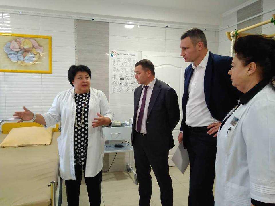 Мэр отметил, что для столичной власти реформирования здравоохранения является одним из приоритетов / kiev.klichko.org
