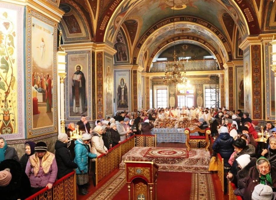 Заупокойное богослужение в Крапивницком/ Кировоградская епархия УПЦ