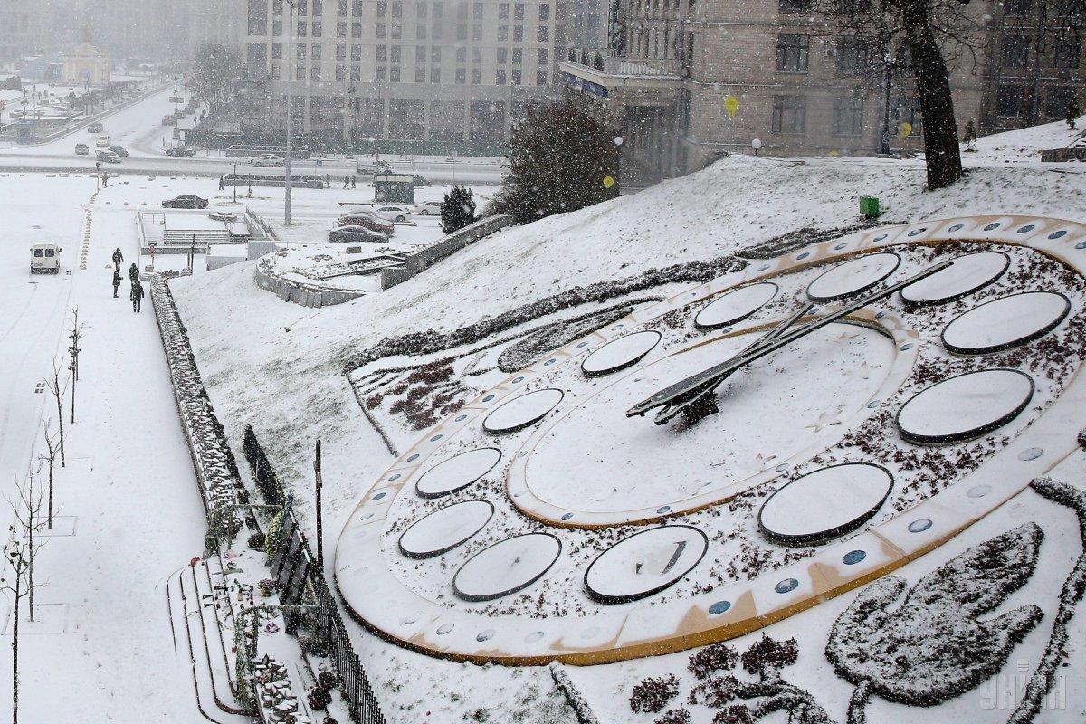 В Киеве сегодня пройдет снег / УНИАН