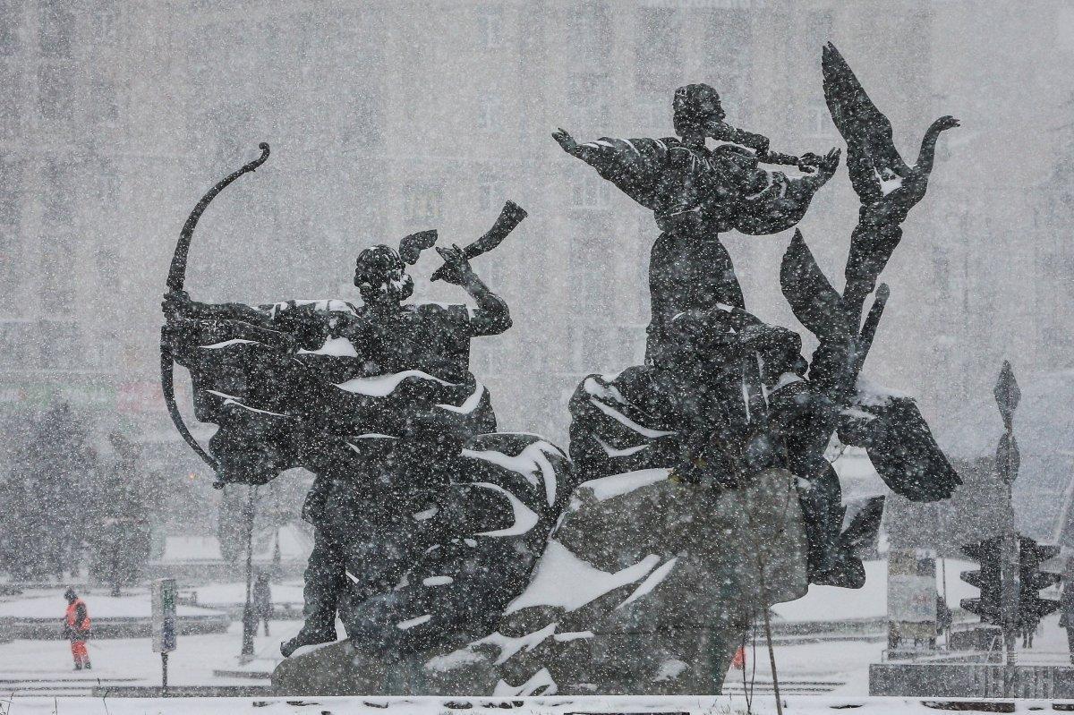 В Киеве усилится снегопад / фото УНИАН