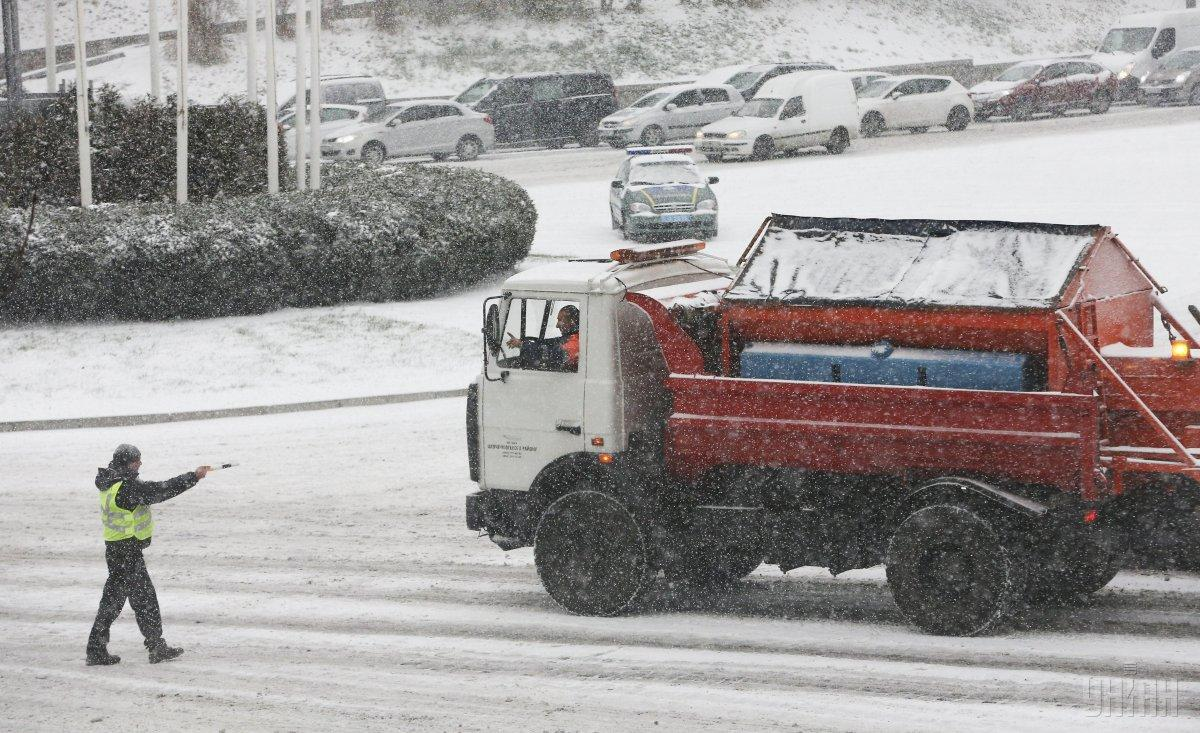 Сегодня снегопады в Украине продолжатся / УНИАН