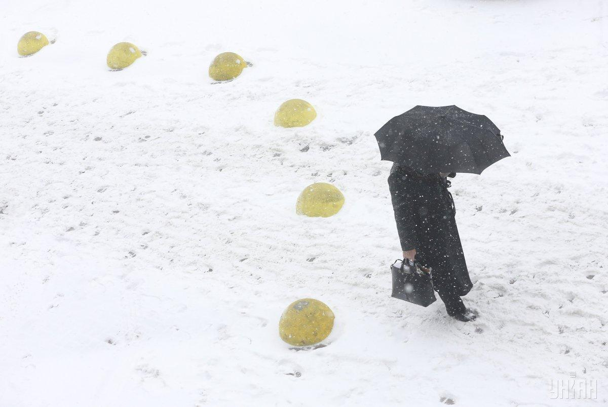 На выходных в Украине пройдет снег / УНИАН