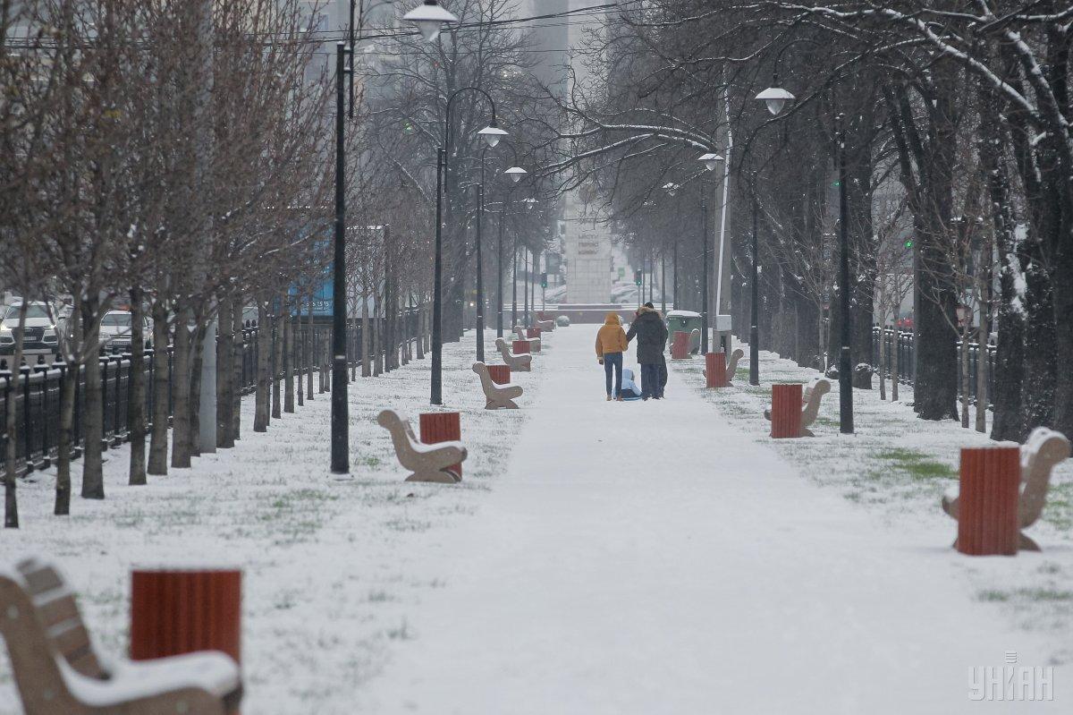В Украине сегодня пройдет снег / УНИАН