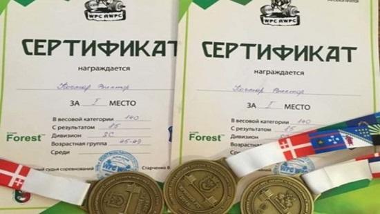 Священник-пауэрлифтер установил новый рекорд Украины / dnepr.comments.ua