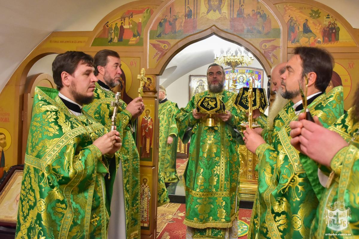 В день святых Космы и Дамиана Кафедральный собор Винницы отметил престольный праздник / orthodox.vinnica.ua