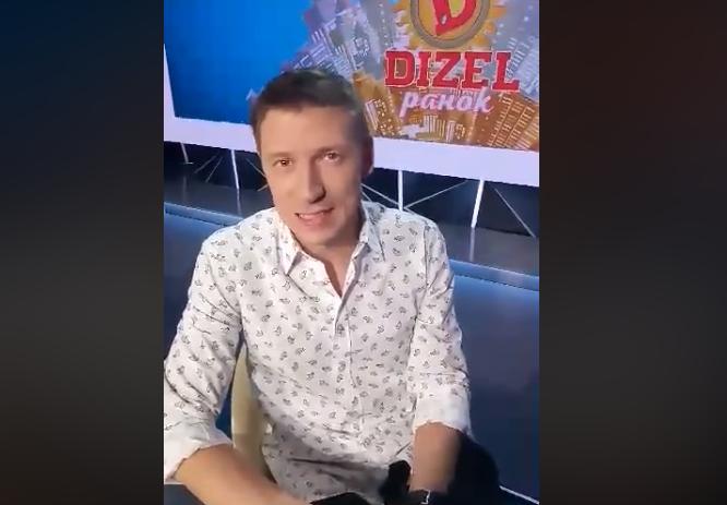 Гашенко потрапив в аварію / Скріншот