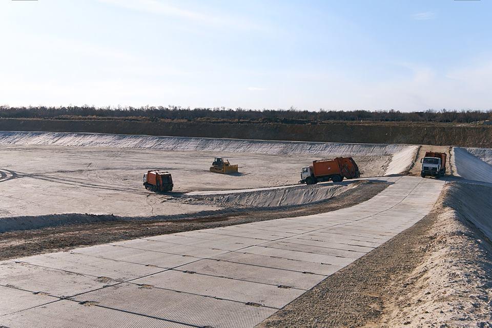 В Краматорске заработала вторая очередь полигона твердых бытовых отходов / фото facebook.com/oleksandrkuts1