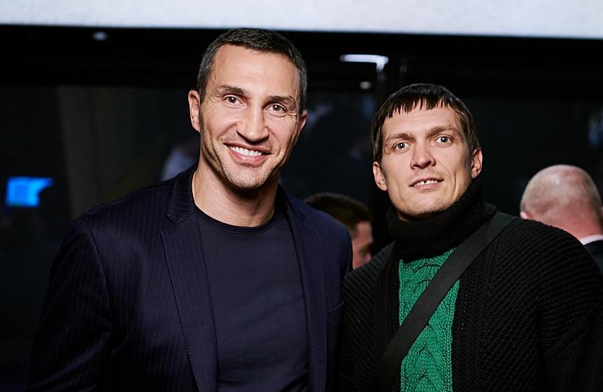 Владимир Кличко и Александр Усик / jetsetter.ua