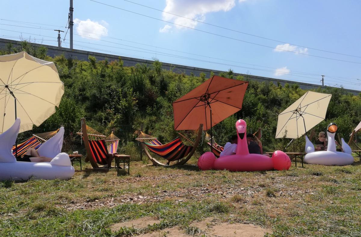 Для посетителей были доступны немало зон для отдыха и развлечений / Фото Марина Григоренко