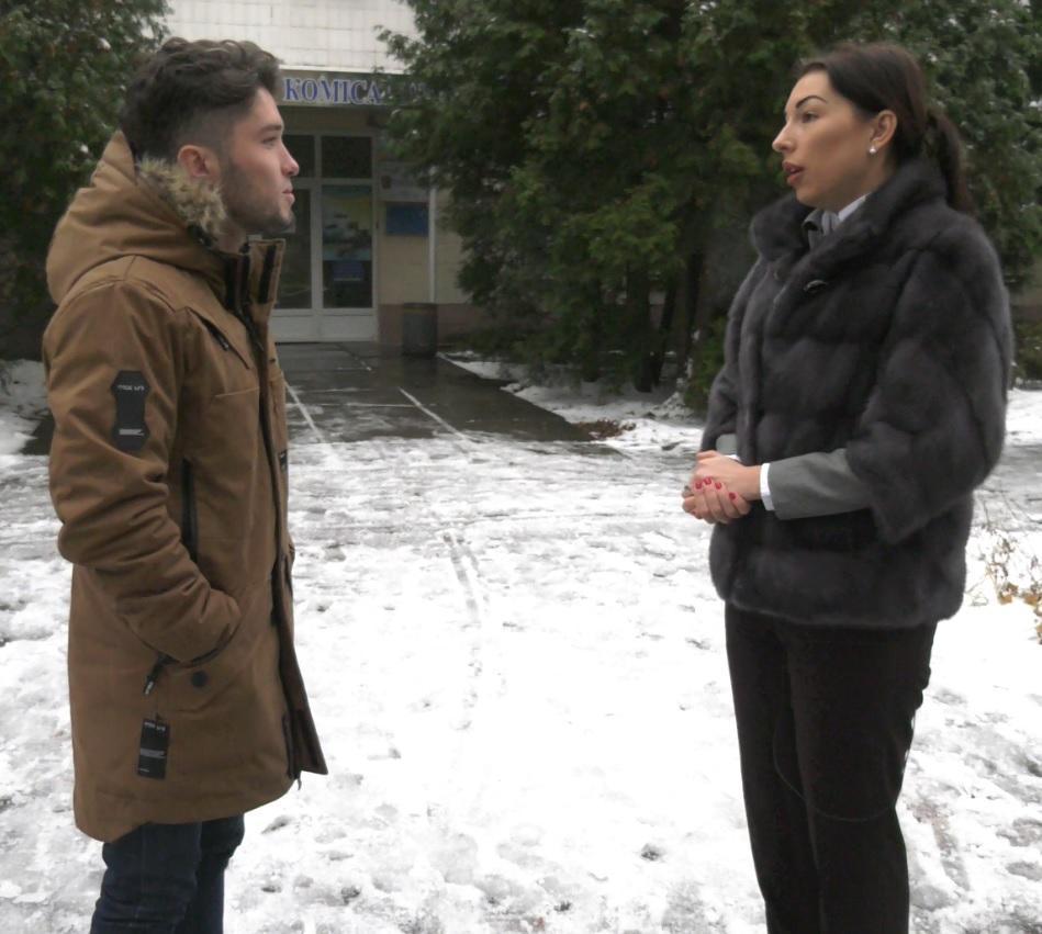 Адвокат Продана Лариса Криворучко говорить про політичне переслідування / фото УНІАН