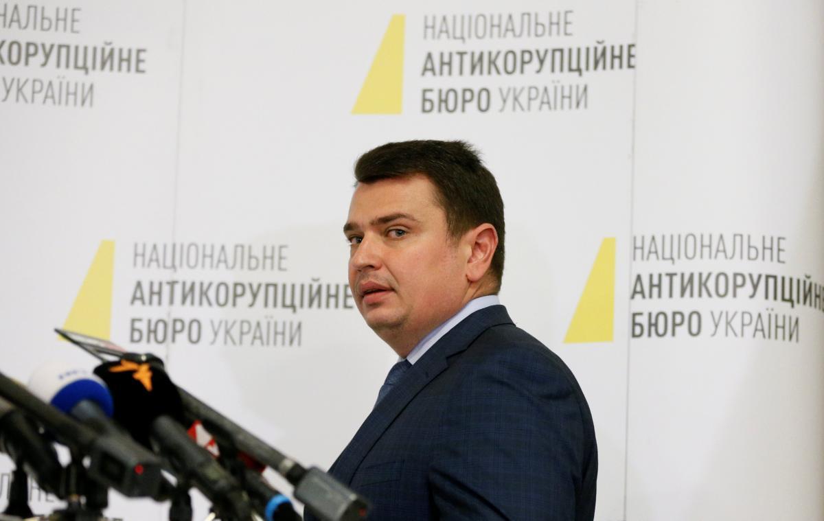 NABU chief Artem Sytnyk / REUTERS