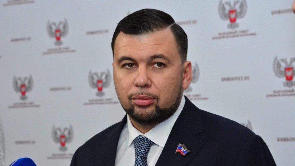 СНБО ввел дополнительные санкции против Пушилина / фото из ресурса боевиков