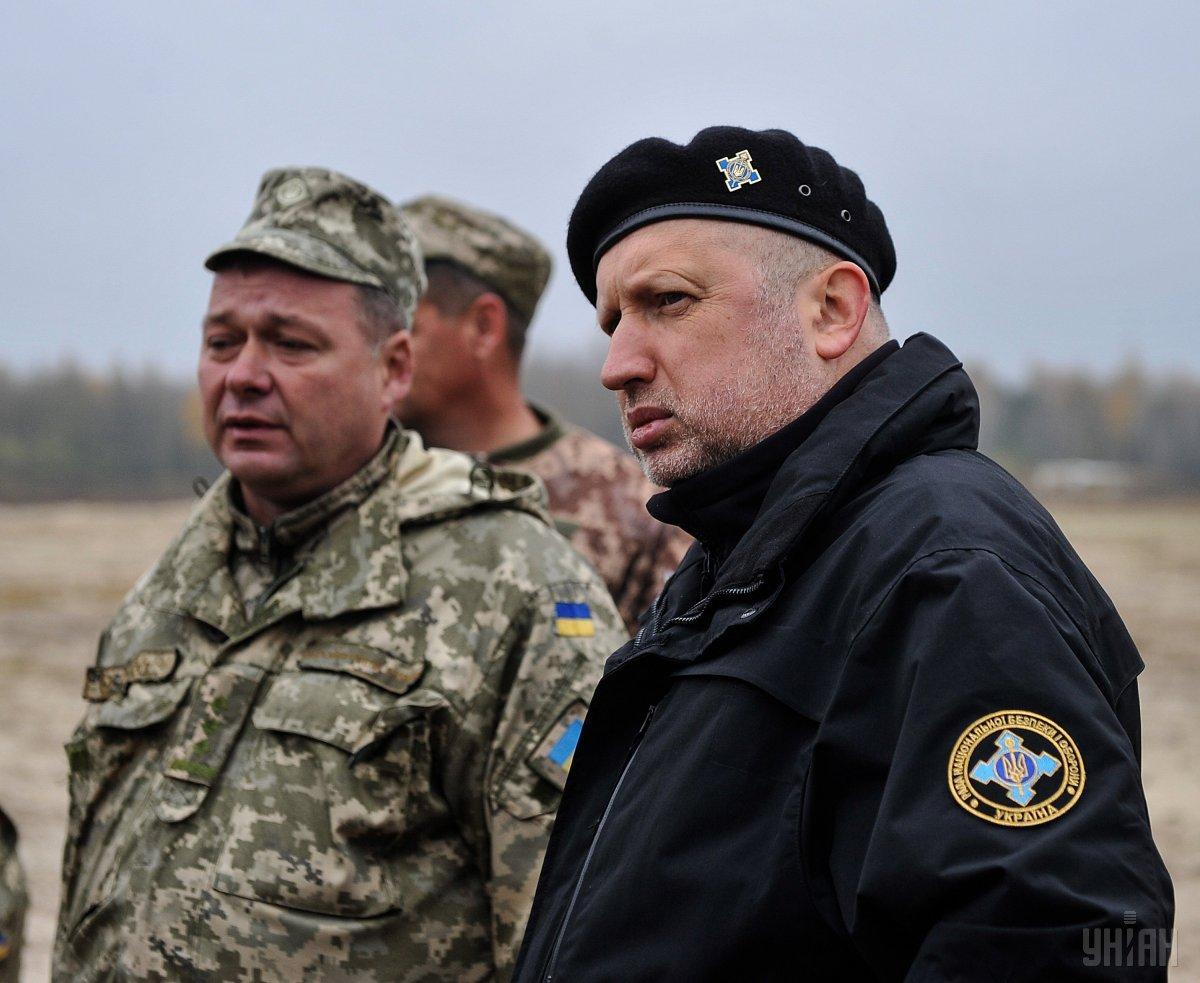 Турчинов заявил, что Украина никогда не воспримет «навязчивую идею» Путина о ведении переговоров с его «марионетками» на оккупированном Донбассе / фото УНИАН