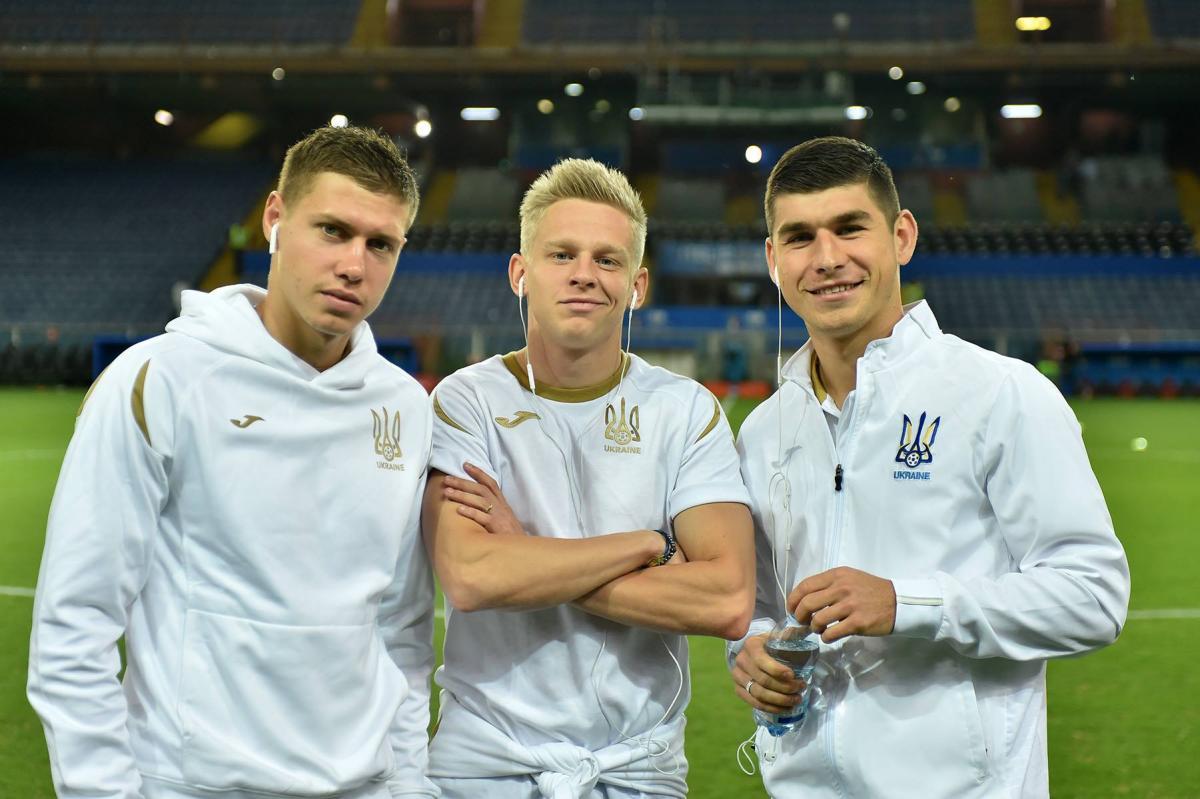 Футболисты сборной Украины отлично настроены на матч против Словакии / пресс-служба ФФУ