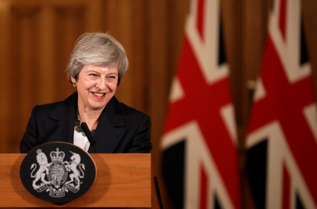 Премьер-министр Великобритании Тереза Мэй / REUTERS