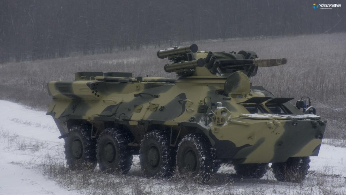 Найближчим часом БТР-3ДА випробують на полігоні / фото ukroboronprom.com.ua