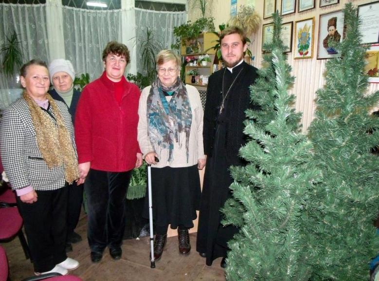 Община Кафедрального собора УПЦ помогла киевлянам с инвалидностью / sobor.in.ua