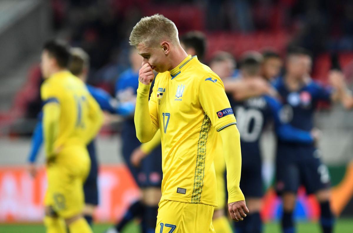Збірна України зазнала найбільшої поразки за останні п'ять років / REUTERS