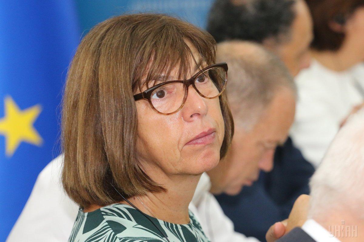 Ребекка Хармс призывает выйти из Интерпола в случае избрания его председателем россиянина / фото УНИАН