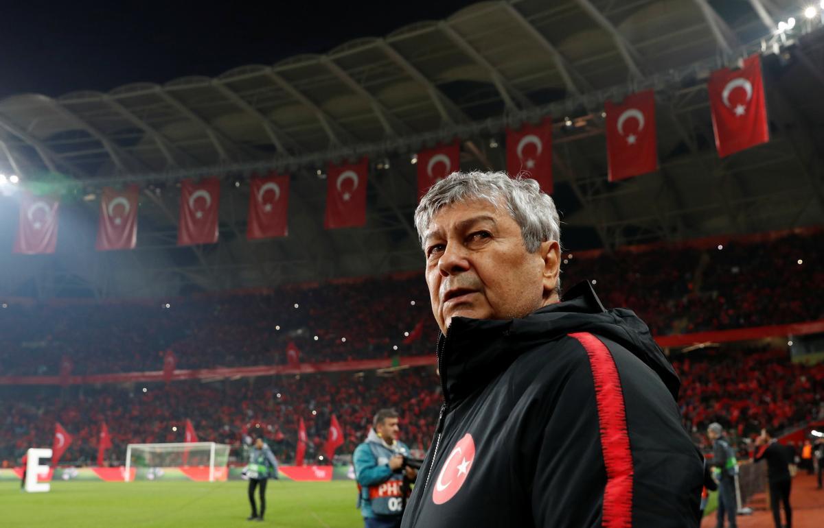 Збірна Туреччини вилетіла в дивізіон СЛіги націй / REUTERS