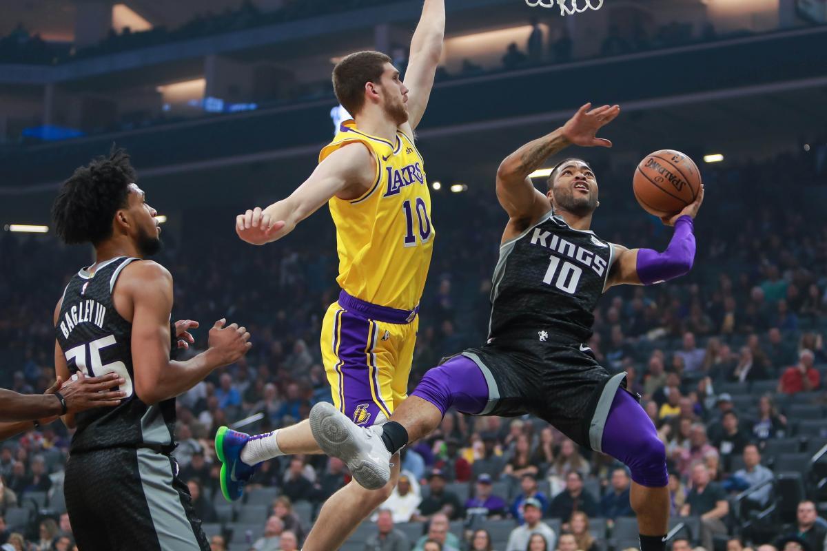 Михайлюк впервые за неделю вышел на площадку в матче НБА / Reuters
