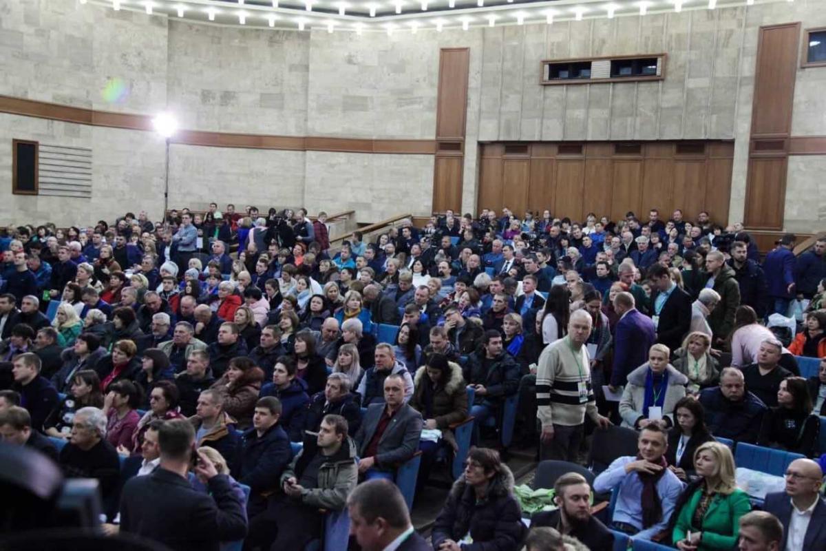 Політика підтримали 107 делегатів загальних зборів Київської організації партії \ УКРОП