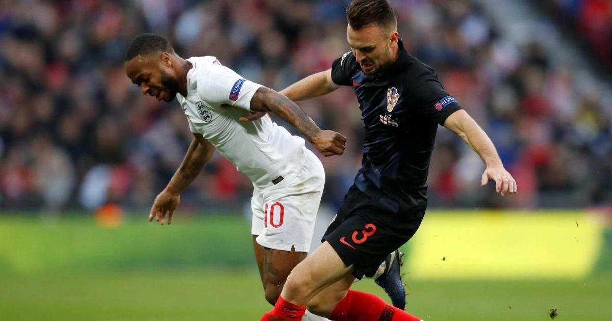 Англия обыграла Хорватию в матче Лиги наций УЕФА / Reuters