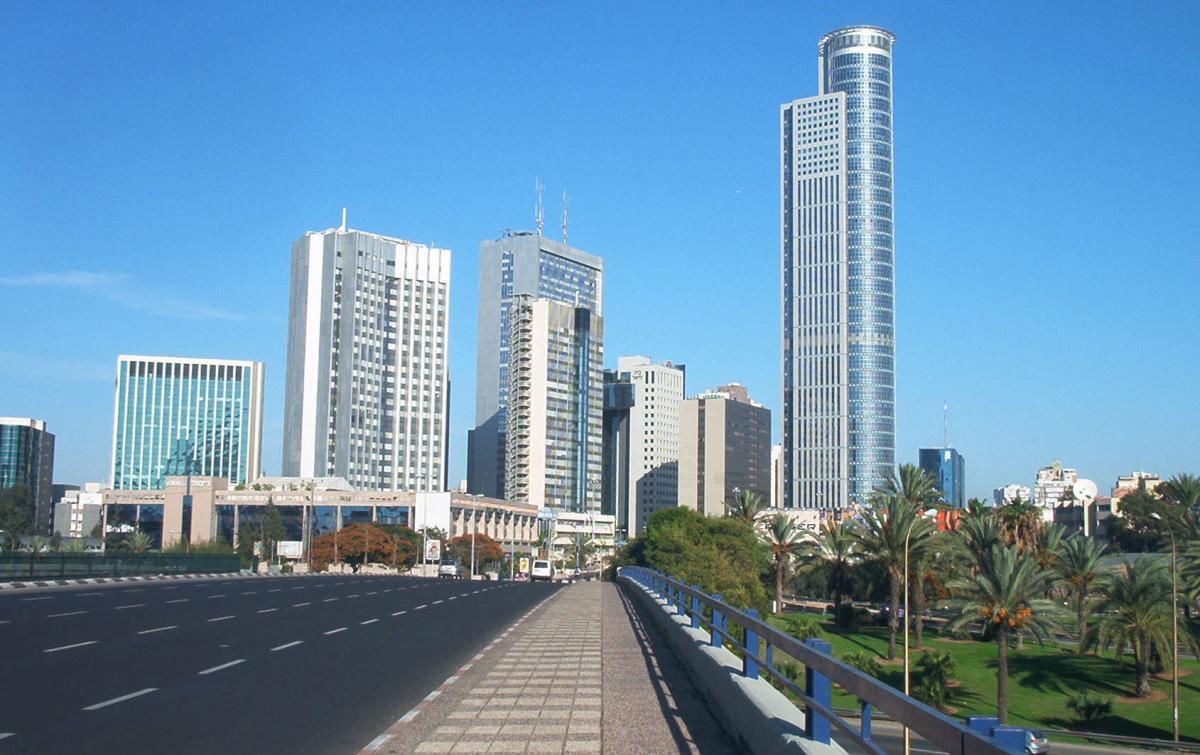 Тель-Авив, иллюстрация / pro-israel.ru