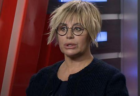 После эфира с участием Герман на телеканале News One в сети снова начали обсуждать внешний вид экс-депутата / скриншот
