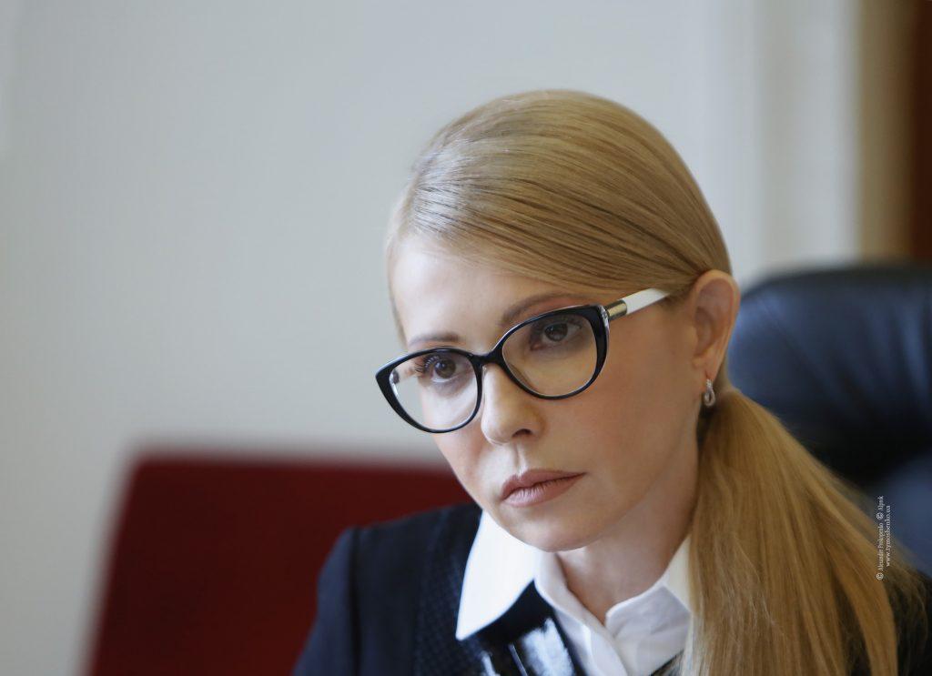 Тимошенко, как свидетельствуют опросы, - лидер президентского рейтинга / photo by Alexander Prokopenko