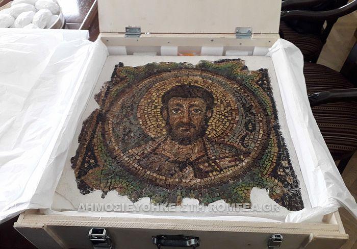 Мозаїка святого апостола Марка / Ромфея