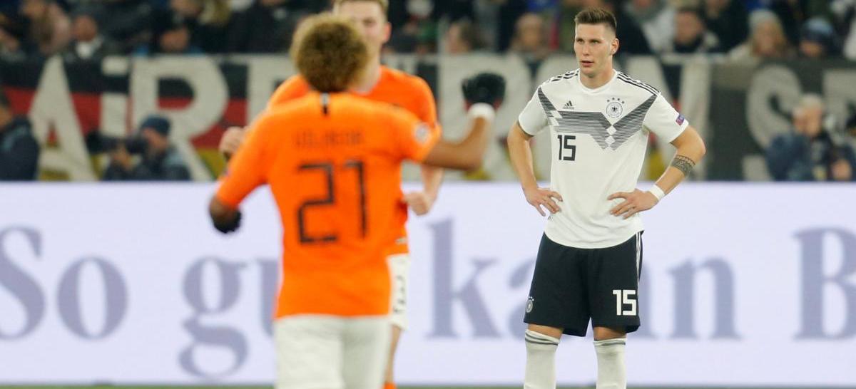 Збірна Німеччини так і не змогла здобути жодної перемоги в першій Лізі націй УЄФА / Reuters