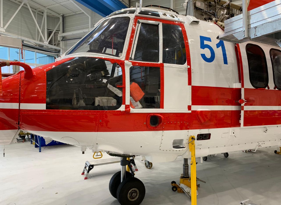 Перші вертольоти для України Airubus Н225 Super puma - практично готові / Twitter Арсен Аваков